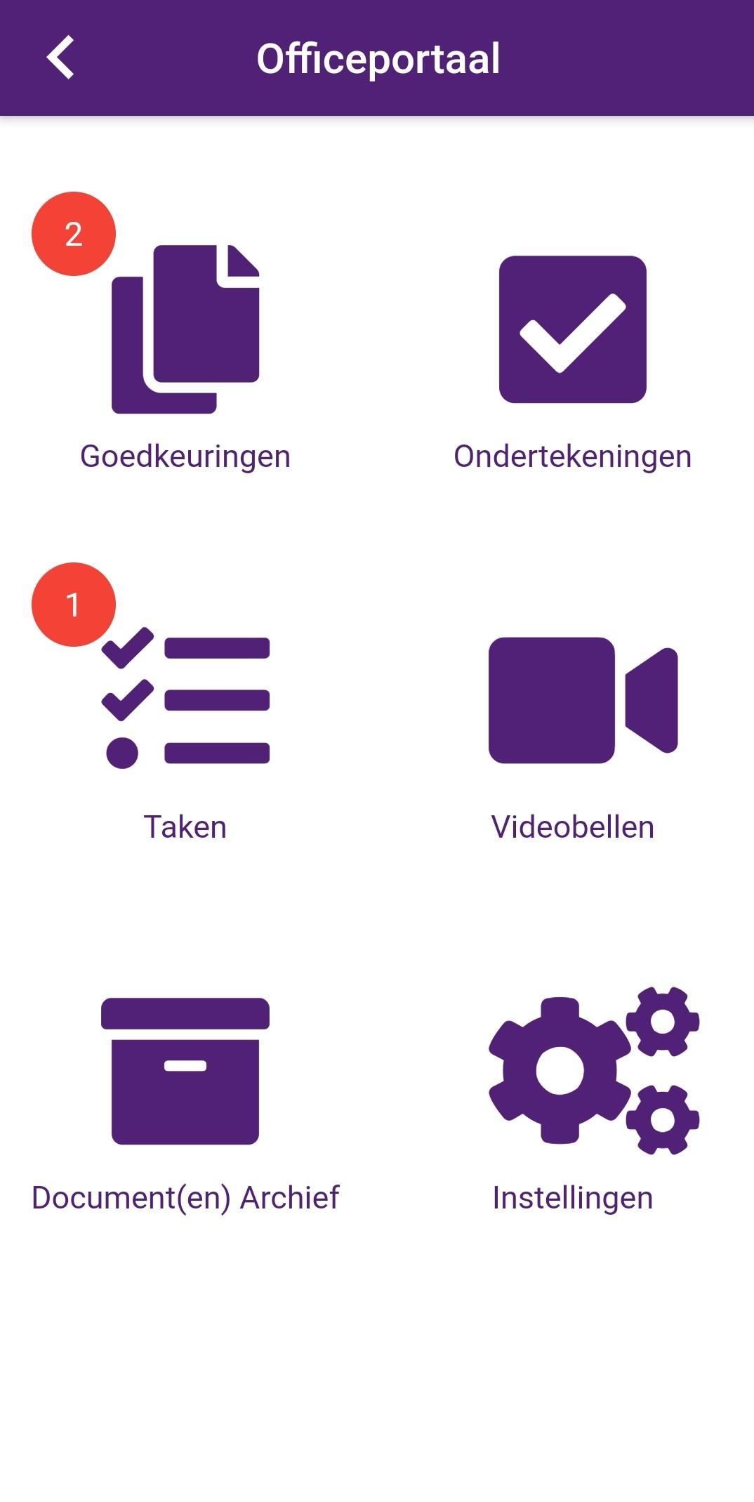 Scheepmaker App Officeportaal
